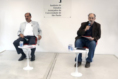 Luiz Roberto Curi e Glauco Arbix