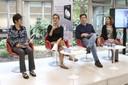 Regina Yoshie Matsue, Sylvia Dantas, Cássio Silveira e Denise Martin
