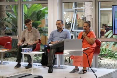 Klaus Frey, João Ricardo Guimarães Caetano e Sueli Furlan
