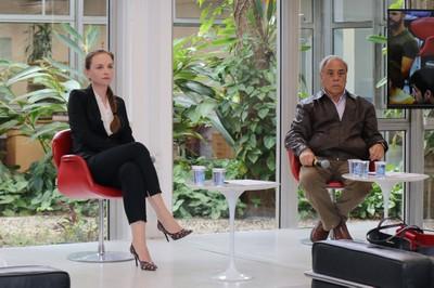 Drielli Peyerl e Gildo Magalhães