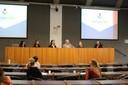 Fátima Rodrigues Fernandes, Irina Kovalskys, Ligia Vizeu Barrozo, Dirceu Solé, Celia Priszkulnik Koiffmann e Mauro Fisberg