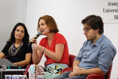 Carolina Burle de Niemayer, Juliana Gomes e Orlando Lima Pimentel