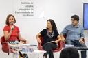 Juliana Gomes, Carolina Burle de Niemayer e Orlando Lima Pimentel