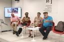 Ricardo Alexino, Neninho de Obaluaie, Tâmara Pacheco e Dennis de Oliveira