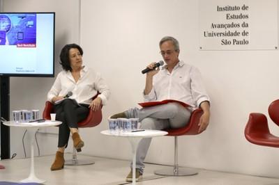 Áurea Zöllner Ianni e Mauricio Pietrocola