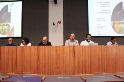 João de Jesus de Paes Loureiro, Soraya Soubhi Smaili, Paulo Herkenhoff, Michel Schlesinger, Marcelo Campos e  Ailton Krenak