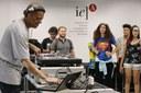 Performance do DJ KL Jay no encerramento do evento