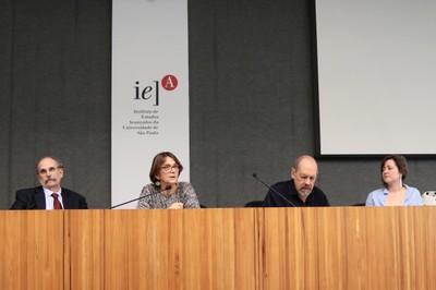 Glauco Arbix, Helena Nader, Paulo Herkenhoff e Talita Trizoli