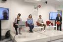Maria Cecilia Oliveira, Camila Caldeira Nunes, Gabriel de Santis Feltran, Rogério Arantes e Paulo Saldiva, via skype