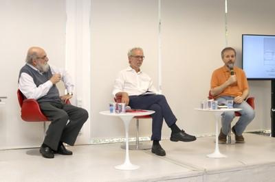 Demi Getschko, Ricardo Abramovay e Stefano Quintarelli