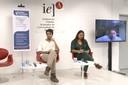 Iago Hairon , Paulina Chamorro e Luiz Carlos Beduschi Filho, via Skype