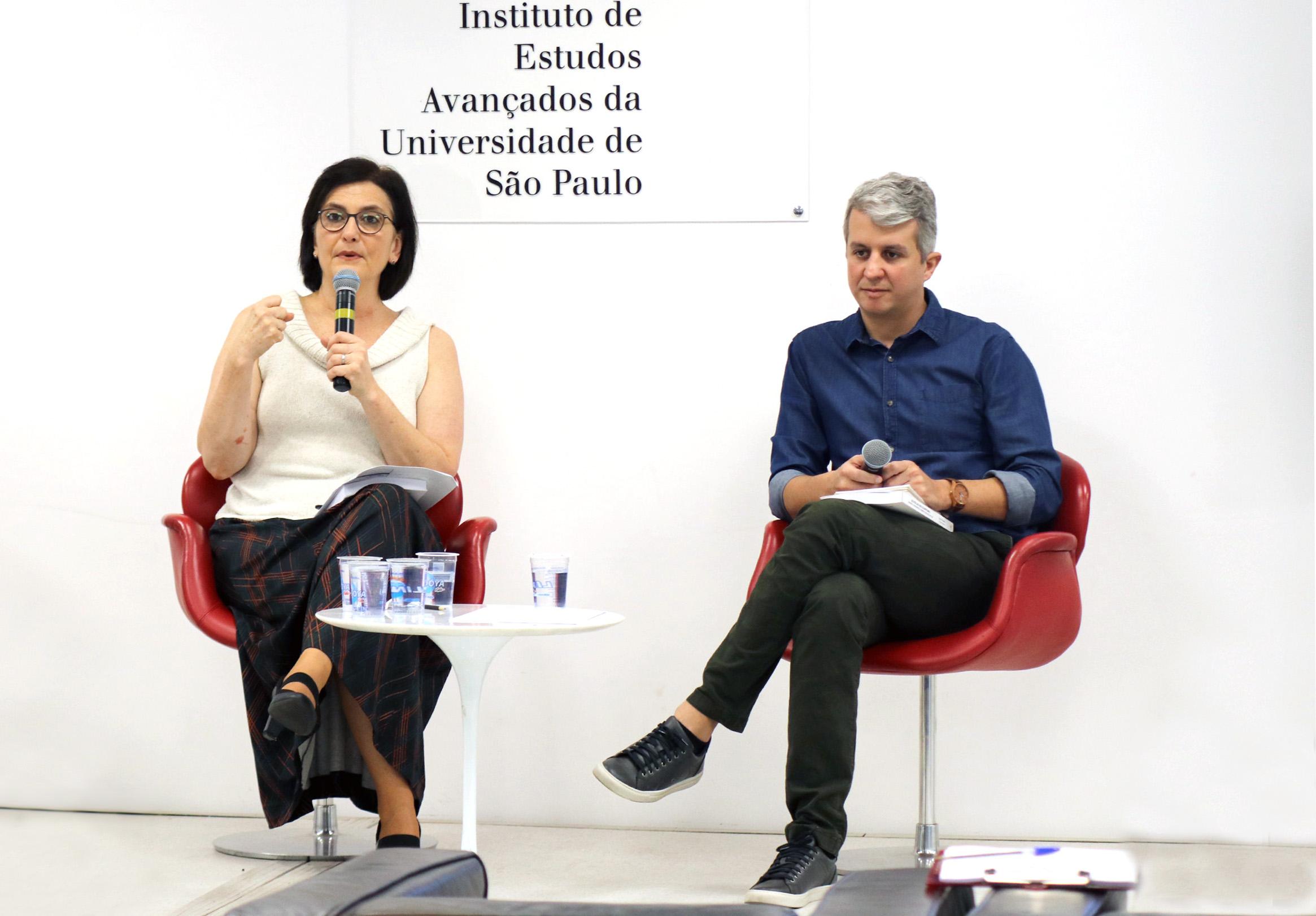 Katia Rubio e Rafael Campos Veloso