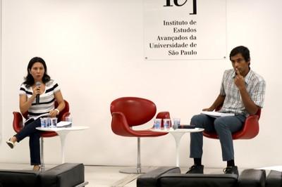 Natália Kohatsu Quintilio e Vinicius Souza