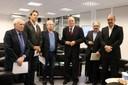 Jose Goldemberg, Fernando Haddad, Renato Janine Ribeiro, Murílio Hingel, Cristovam Buarque e Aloizio Mercadante