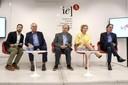 Marcelo Calero, Juca Ferreia, Francisco Weffort, Marta Suplicy e Luiz Roberto Nascimento Silva