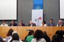 José Carlos Carvalho, José Sarney Filho, Izabella Teixeira, Rubens Ricupero, Marina Silva, Edson Duarte e Carlos Minc