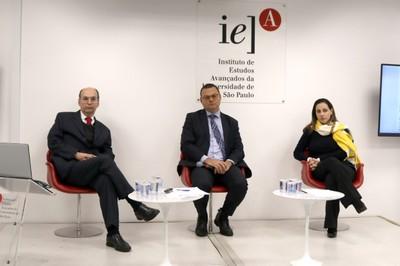 Paulo Roberto Fadigas, Fabio Bechara e Eliana Faleiros Vendramini