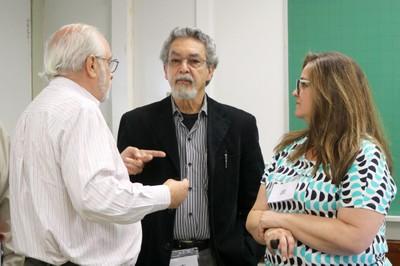 Luiz Carlos de Menezes, Nílson José Machado e Cláudia Sintoni