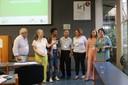 Luis Carlos de Menezes, Vera B. Henriques, Juliana Yade, Mikiya Muramatsu, Monica Almeida, Monica Carrer e Silene Kuin, coordenadores dos Grupos temáticos