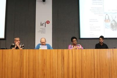 Sidarta Tollendal Gomes Ribeiro, Paulo Herkenhoff, Rosana Paulino e Helio Menezes