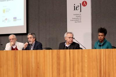 Luis Carlos de Menezes, Nilson José Machado, Lino de Macedo e Juliana Yade