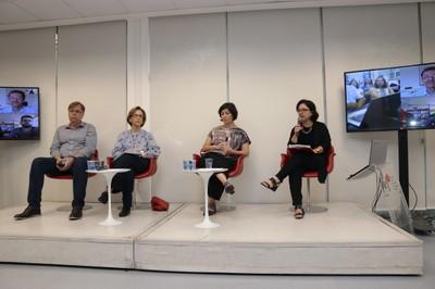 Eduardo Nocetti Holms, Gina Gomes Machado, Renata Vieira da Motta e Isis Baldini