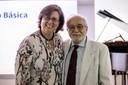 Angela Dannemann e Luís Carlos Menezes