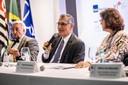 Paulo Saldiva, Vahan Agopyan e Angela Dannemann