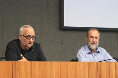 Paulo Saldiva e Antonio Mauro Saraiva
