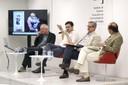 João Gabriel de Lima, Vinicius Mota, Luiz Roberto Serrano e Eugênio Bucci