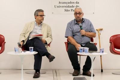 Luiz Roberto Serrano e Paulo Saldiva