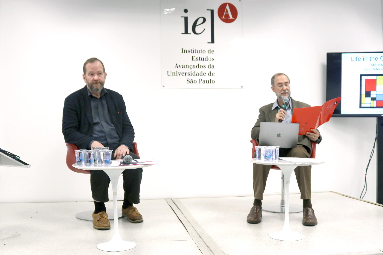 Donald Peterson e Antonio Mauro Saraiva