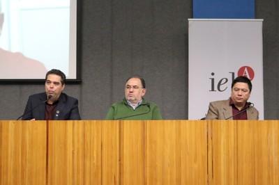 Alexander Turra, Alfredo Nastari e Paulo Sumida