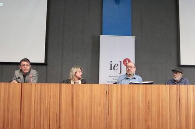 Marcelo Viana, Maria Arminda do Nascimento Arruda, Paulo Herkenhoff  e Cildo Meireles – 16/08/2019
