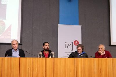 Martin Grossmann, Francisco Rômulo Monte Ferreira, Ildeu de Castro Moreira e Luciano Migliaccio - 15/08/2019
