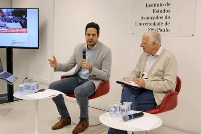 Karabekir Akkoyunlu e Brasílio Sallum Jr.