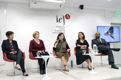 Débora Sotto, Jamile Sabatini Marques, Roxane Ré, Tatiana Tucunduva Philippi Cortese e Marcelo Batista Nery