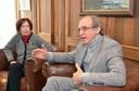 Maria Helena Capelato e Martin Grossmann