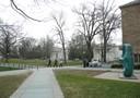 Vista geral campus Univerisidade Princeton