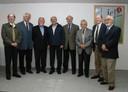 Hernan Chaimovich, João Steiner, Jacques Marcovitch, César Ades, Umberto Cordani, Alfredo Bosi, Gerhard Malnic e Carlos Guilherme Mota