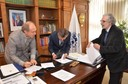 Martin Grossmann, Sergio Bravo Escobar e Raúl Sánchéz Gutiérrez