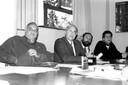 Roberto Leal Lobo e Silva, Jair Meneghelli e outros participantes do Fórum Capital trabalho
