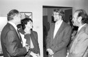 Eduardo Suplicy, Maria Vitória Benevides, Philippe Van Parijs e Umberto Cordani