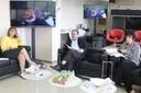 Beatriz Barbuy, Guilherme Ary Plonski, via videoconferência, Fernando Queiroz Cunha e Regina Pekelmann Markus