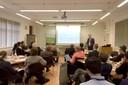 Mike Hannon, diretor do Birmingham Institute of Advanced Studies (BIAS) abrindo o encontro