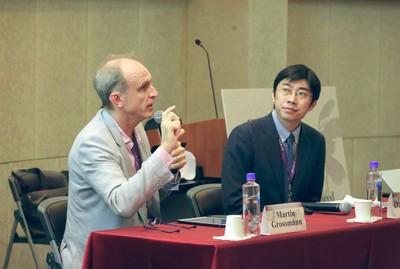 Martin Grossmann e Cai Dapeng