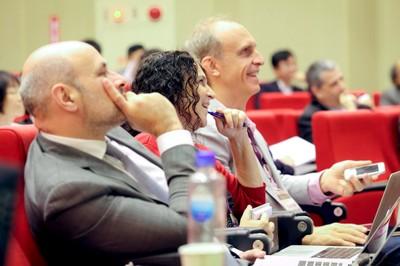 Olivier Bouin, Michal Linial e Martin Grossmann