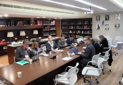 Sala de Reuniões do IEA-HU