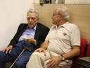 Paulo Nogueira Neto e César Ades