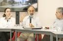 Luciane Ortega, Guilherme Ary Plonski e Roberto Mendonça de Faria